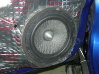 Установка акустики MTX T6S652 в Mitsubishi Pajero Pinin