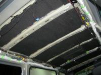 Шумоизоляция крыши. Второй слой - шумозоляция
