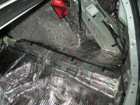 Шумоизоляция багажника. Первый слой - виброизоляция