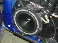 Установка акустики Eton WPRO-170 в Mazda 3 (II)