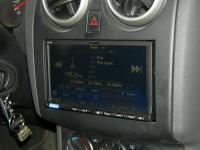 Фотография установки магнитолы Alpine ICS-X8 в Nissan Qashqai