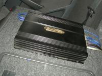 Установка усилителя DLS CA450i в Skoda Octavia (A5)