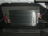 Установка усилителя Audio System CO 65.4 в Nissan Almera