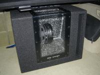 Установка сабвуфера Alpine SBG-1244BP в Infiniti FX50S