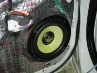 Установка акустики Audio System H 165 в Mitsubishi Lancer Evolution X