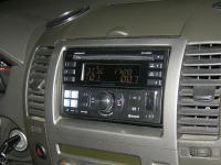Фотография установки магнитолы Alpine CDE-W235BT в Nissan Pathfinder