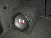 Установка сабвуфера MTX RT10-04 box в Skoda Octavia (A5)