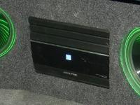 Установка усилителя Alpine MRX-M110 в Honda Accord