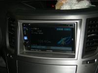 Фотография установки магнитолы Alpine IVE-W530BT в Subaru Outback (BR)