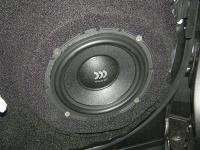 Установка акустики Morel Virtus 602 в Toyota Highlander