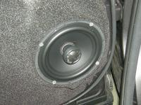 Установка акустики Morel Tempo Coax 6 в Toyota Highlander