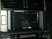 Фотография установки магнитолы Pioneer AVH-X8500BT в Toyota Land Cruiser 150