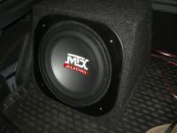 Установка сабвуфера MTX RT12-04 box в Ford Focus 3