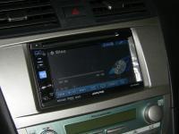 Фотография установки магнитолы Alpine IVE-W530BT в Toyota Camry V40