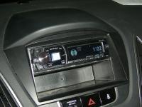 Фотография установки магнитолы Alpine CDE-175R в Hyundai ix35