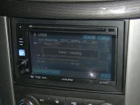 Фотография установки магнитолы Alpine IVE-W530E в Chevrolet Captiva