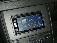 Фотография установки магнитолы Alpine INE-W970BT в Volvo XC90