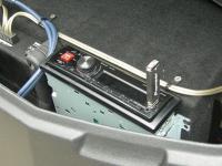 Фотография установки магнитолы Alpine UTE-72BT в Can-Am Outlander