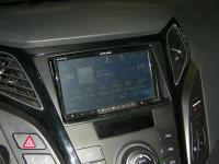 Фотография установки магнитолы Alpine INE-W977BT в Hyundai i40