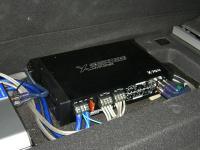 Установка усилителя Audio System X 70.4 в Hyundai i40