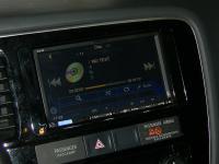 Фотография установки магнитолы Alpine ICS-X8 в Mitsubishi Outlander III