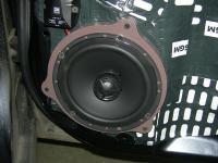 Установка акустики Morel Tempo Coax 6 в Subaru Outback (BR)