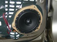 Установка акустики Morel Tempo Coax 6 в Suzuki Grand Vitara