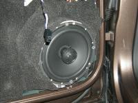 Установка акустики Morel Tempo Coax 6 в Volkswagen Tiguan