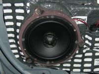 Установка акустики Morel Tempo Coax 6 в Mercedes CLK (W209)