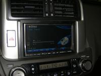 Фотография установки магнитолы Alpine INA-W910R в Toyota Land Cruiser 150