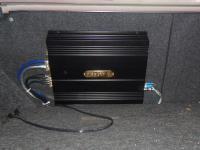 Установка усилителя DLS CA450i в Honda Civic 4D