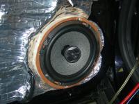 Установка акустики Focal Performance PC 165 в Opel Signum