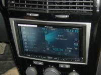 Фотография установки магнитолы Pioneer AVH-X4600DVD в Opel Astra H