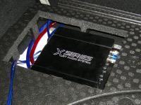 Установка усилителя Audio System X 75.4 D в Opel Astra J GTC