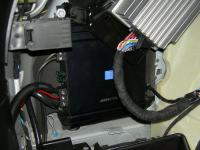 Установка усилителя Alpine MRV-M500 в BMW X6 (E71)