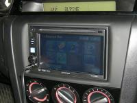 Фотография установки магнитолы Alpine IVE-W530E в Mazda 3
