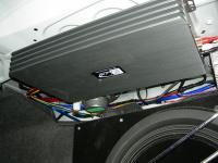 Установка усилителя Kicx QS 1.600 в Nissan Teana (J32)