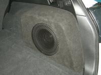 Установка сабвуфера Morel Primo 104 в Subaru Outback (BR)