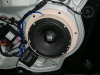 Установка акустики Morel Maximo 6 в Skoda Octavia (A5)