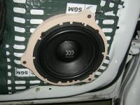 Установка акустики Morel Virtus 602 в Chevrolet Cruze