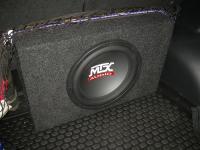 Установка сабвуфера MTX RT12-04 box в Honda CR-V (IV)