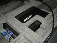 Установка усилителя Eton ECC 500.4 в Ford Mondeo 4 (Mk IV)