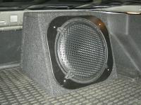 Установка сабвуфера Hertz ES 300.5 в Ford Mondeo 4 (Mk IV)