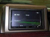 Фотография установки магнитолы Sony XAV-E70BT в Honda Elysion