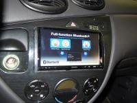 Фотография установки магнитолы Sony XAV-E70BT в Ford Focus