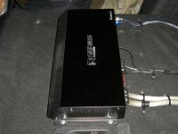 Установка усилителя Audio System R 1250.1 D в Mazda 3 (III)