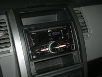 Фотография установки магнитолы JVC KW-R710E в Nissan X-Trail (T31)