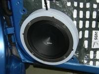 Установка акустики Audison Prima APK 165 в Skoda Rapid