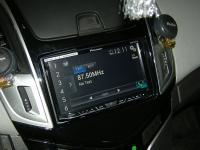 Фотография установки магнитолы Pioneer AVH-X8600BT в Chevrolet Cruze