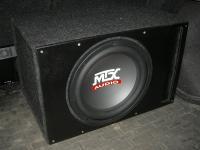 Установка сабвуфера MTX RT12-04 vented box в Nissan Qashqai